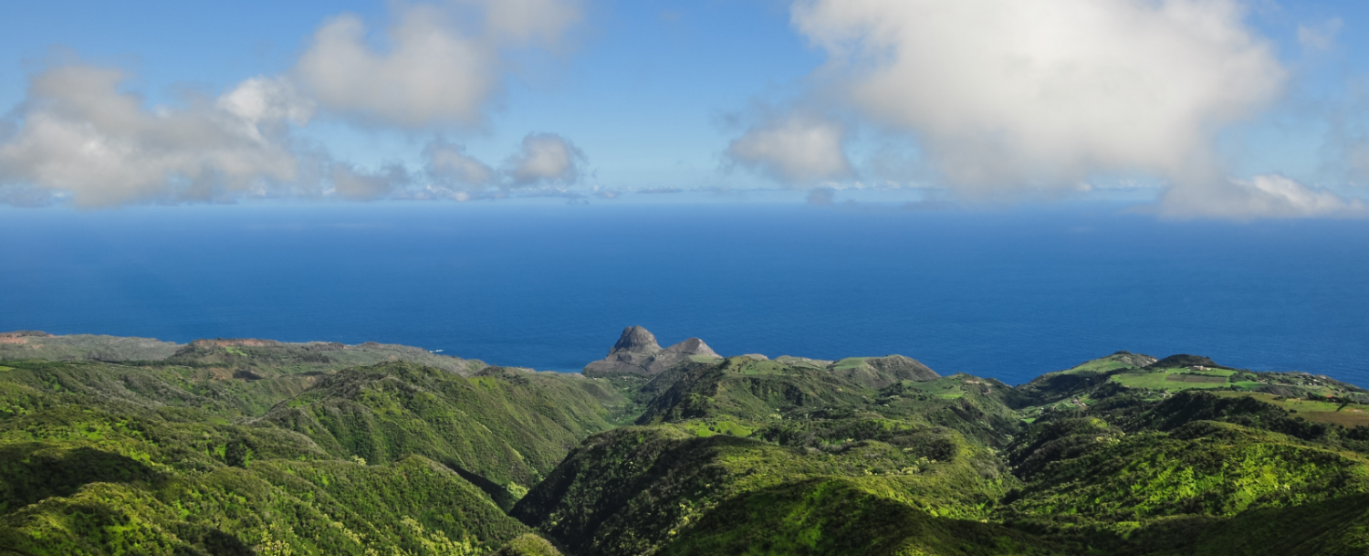 View of Maui from Maui helicopter tours