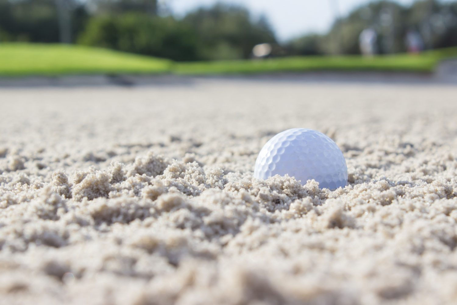 Golf Ball in Sand Trap -Things to do Maui
