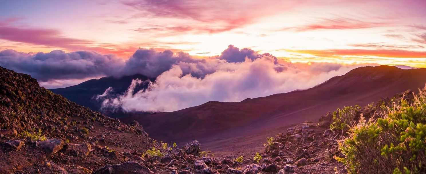 First light on a summit on Haleakala | Maui Volcano Tour