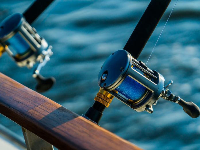 fishing rods and reels for fishing on Maui